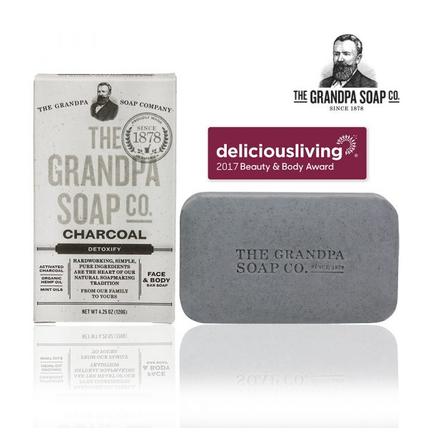 活炭大麻籽薄荷專業淨化皂-1000