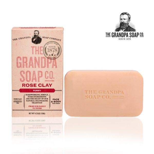 玫瑰火山泥專業面膜皂-1000