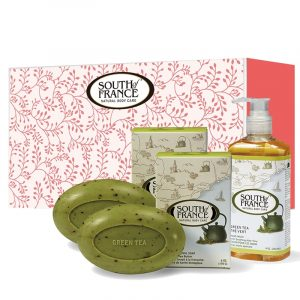 綠茶豪華組 + 綠茶洗手乳 + 沐浴手套