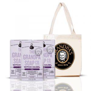 Grandpa 金縷梅組 + 購物袋 (黑)