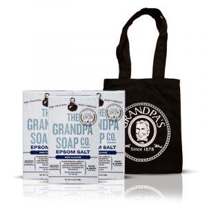 Grandpa 鎂鹽組 + 購物袋 (黑)