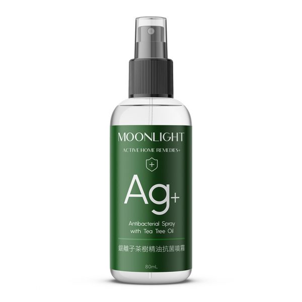Moonlight Ag+銀離子茶樹精油抗菌噴霧 80mL